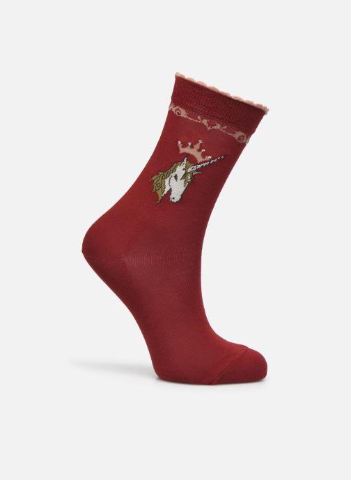 Sokken en panty's Falke Chaussettes Unicorn Rood detail