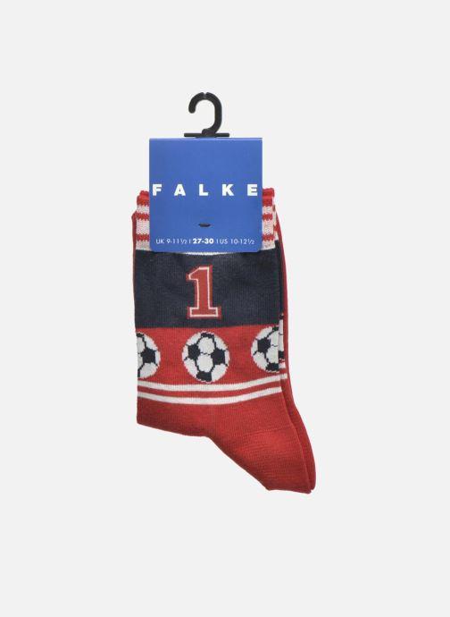 Calze e collant Falke Chaussettes Soccer Rosso immagine posteriore