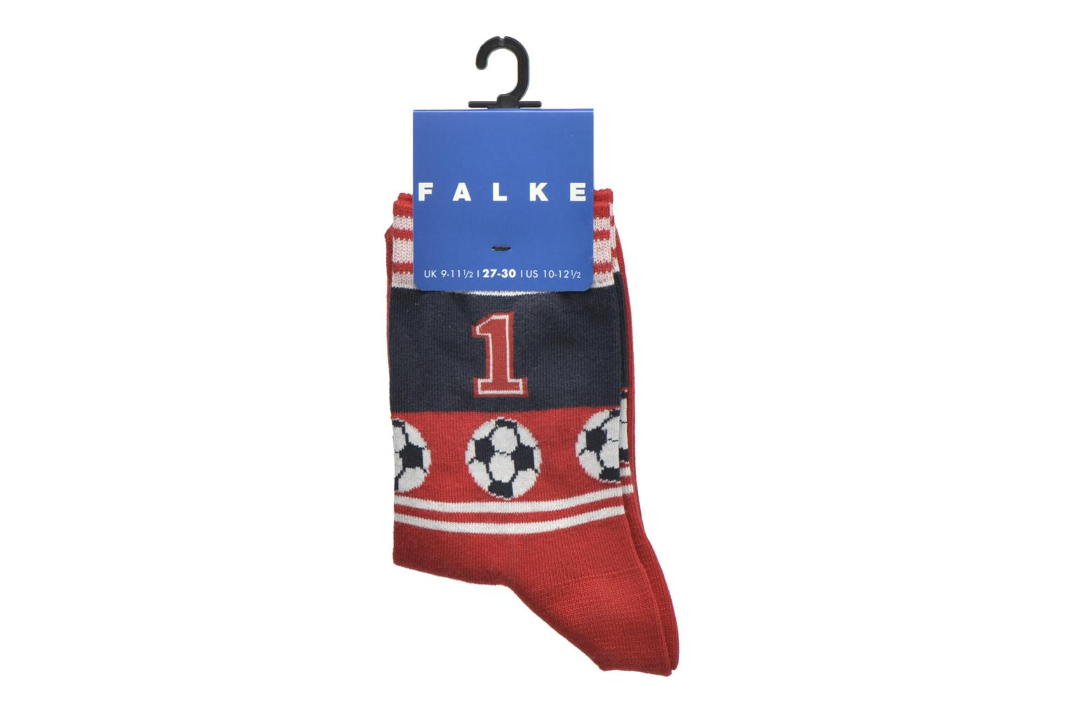 Socks & tights Falke Chaussettes Soccer Red back view