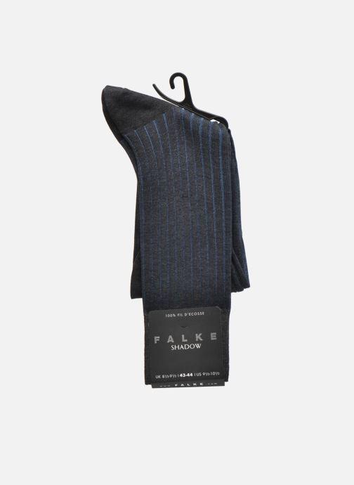 Socken & Strumpfhosen Falke Chaussettes Shadow grau ansicht von hinten