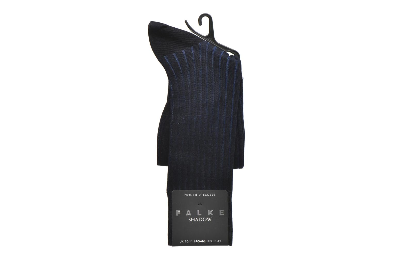 Chaussettes et collants Falke Chaussettes Shadow Bleu vue derrière