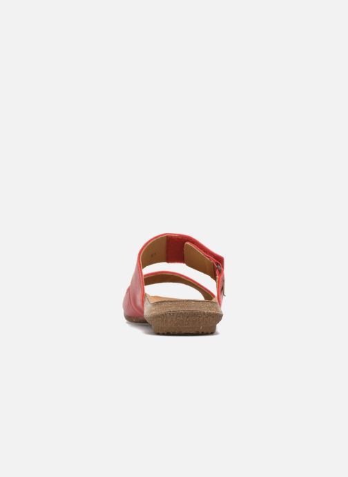 Sandali e scarpe aperte El Naturalista Wakataua ND79 Rosso immagine destra
