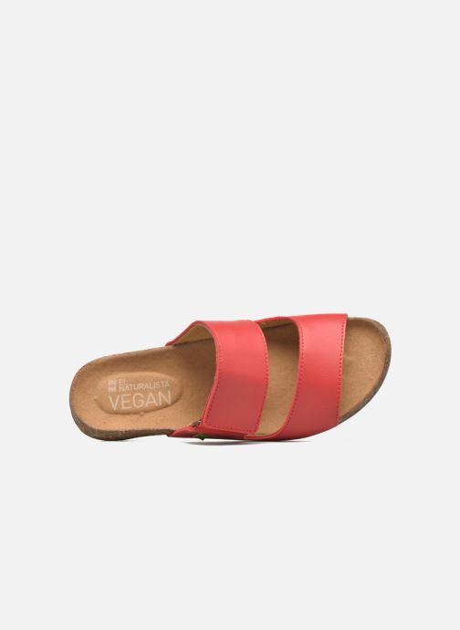 Sandales et nu-pieds El Naturalista Wakataua ND79 Rouge vue gauche