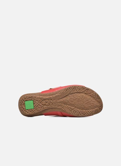 Sandales et nu-pieds El Naturalista Wakataua ND79 Rouge vue haut
