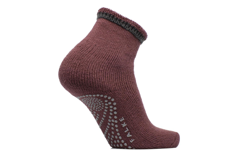 Sokken en panty's Falke Chaussons-chaussettes Cuddle Pads Bordeaux detail