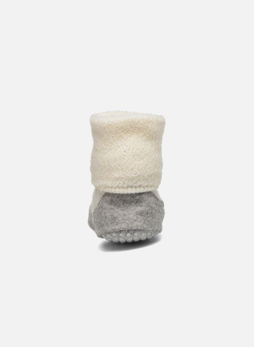 Chaussettes et collants Falke Chaussons-chaussettes COSYSHOE Blanc vue droite
