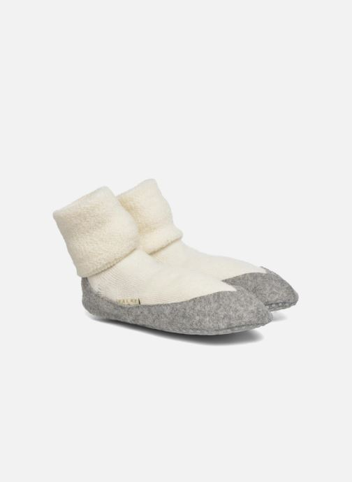 Sokken en panty's Falke Chaussons-chaussettes COSYSHOE Wit detail