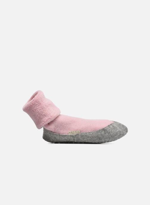 Chaussettes et collants Falke Chaussons-chaussettes COSYSHOE Rose vue derrière