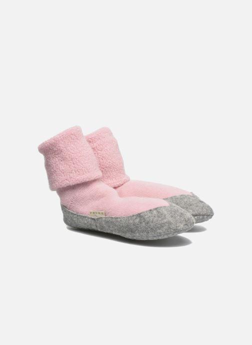 Chaussettes et collants Falke Chaussons-chaussettes COSYSHOE Rose vue détail/paire