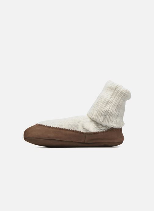 Calze e collant Falke Chaussons-chaussettes Cottage Socke Bianco immagine frontale