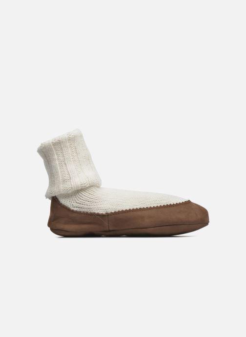 Chaussettes et collants Falke Chaussons-chaussettes Cottage Socke Blanc vue derrière