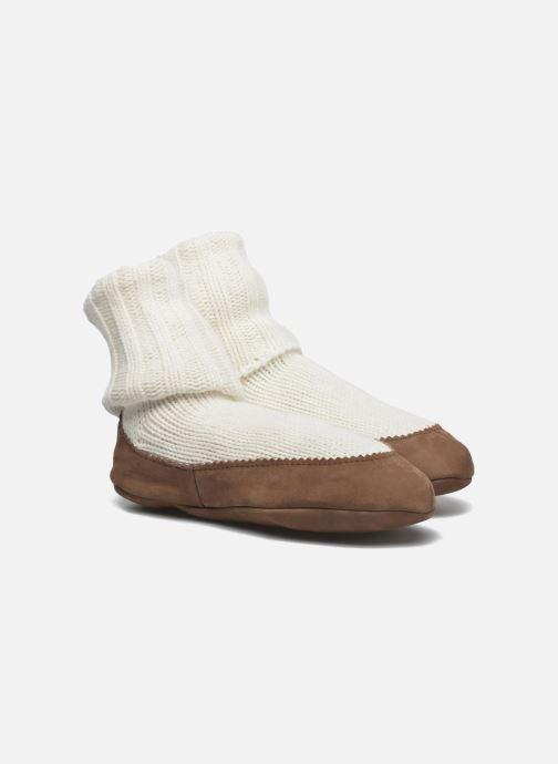 Chaussettes et collants Falke Chaussons-chaussettes Cottage Socke Blanc vue détail/paire
