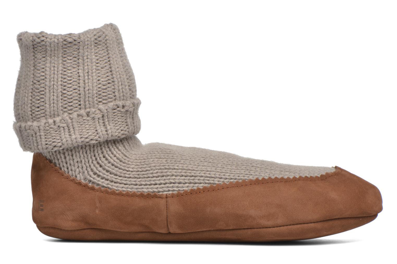 Chaussettes et collants Falke Chaussons-chaussettes Cottage Socke Beige vue derrière
