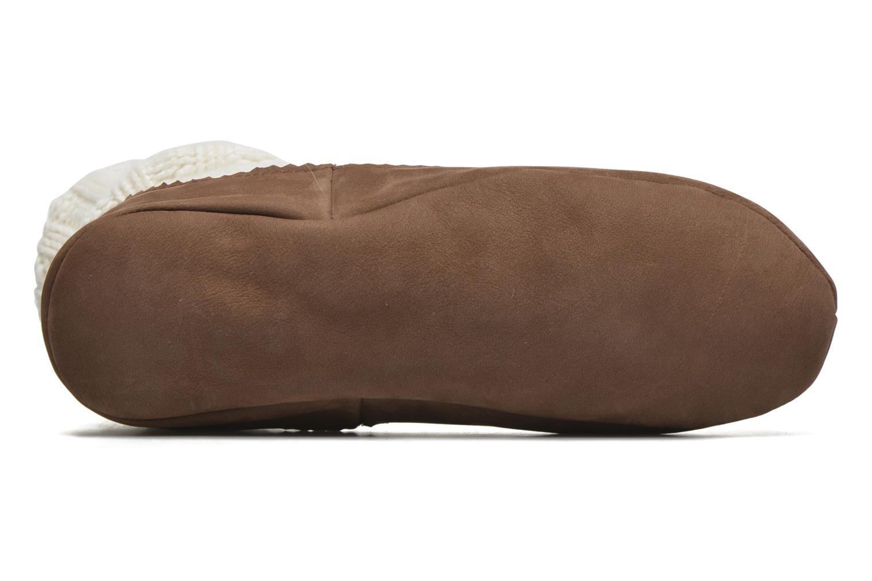 Medias y Calcetines Falke Chaussons-chaussettes Cottage Socke Blanco vista de arriba