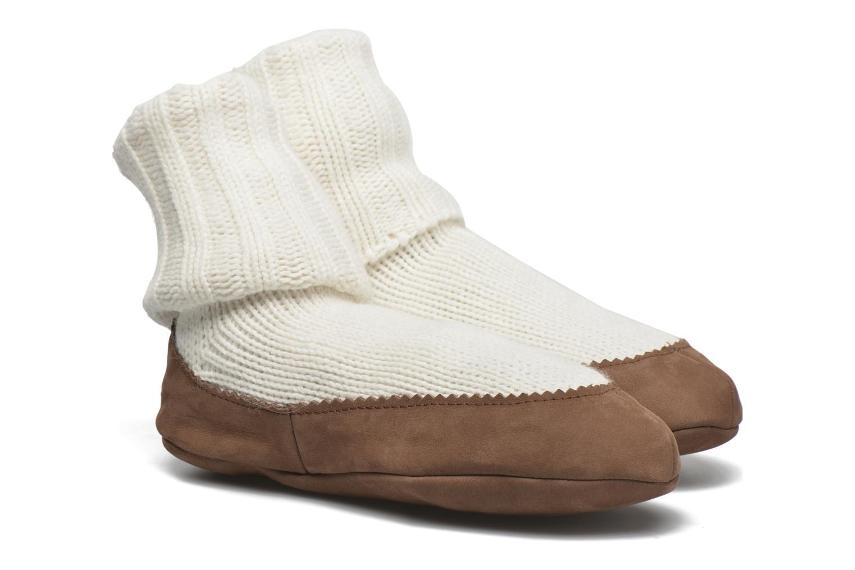 Medias y Calcetines Falke Chaussons-chaussettes Cottage Socke Blanco vista de detalle / par