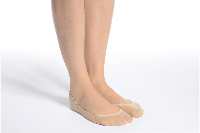 Medias y Calcetines Falke Chaussettes invisibles Cotton step Blanco vista de arriba