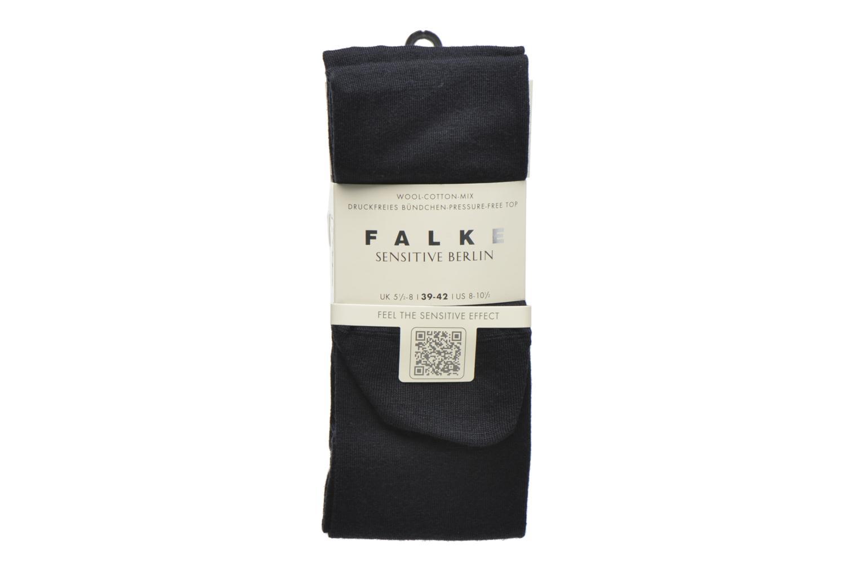 Chaussettes et collants Falke Chaussettes hautes Berlin Sensitive Bleu vue détail/paire