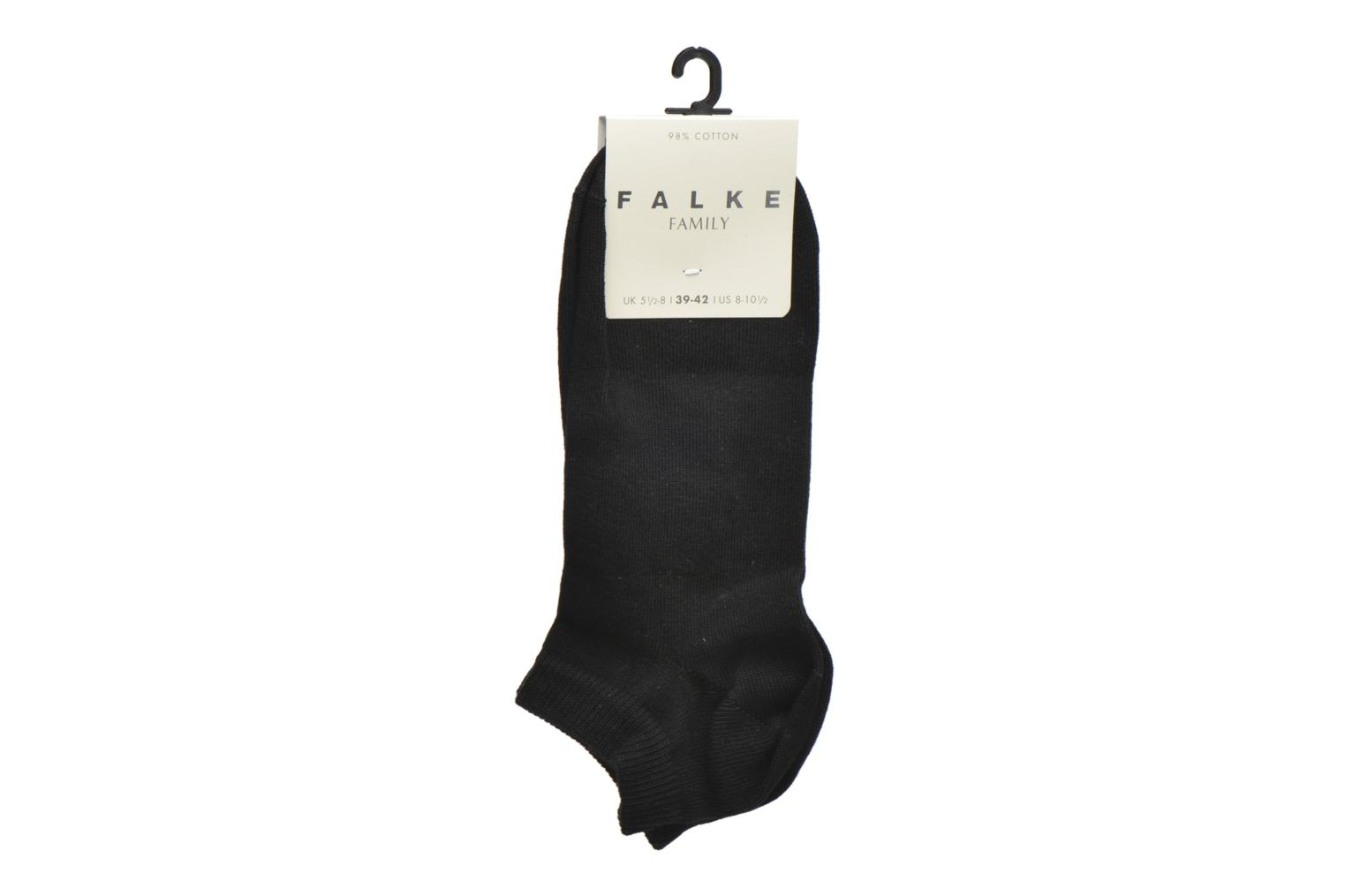 Strømper og tights Falke Chaussettes Family Short Sort se bagfra