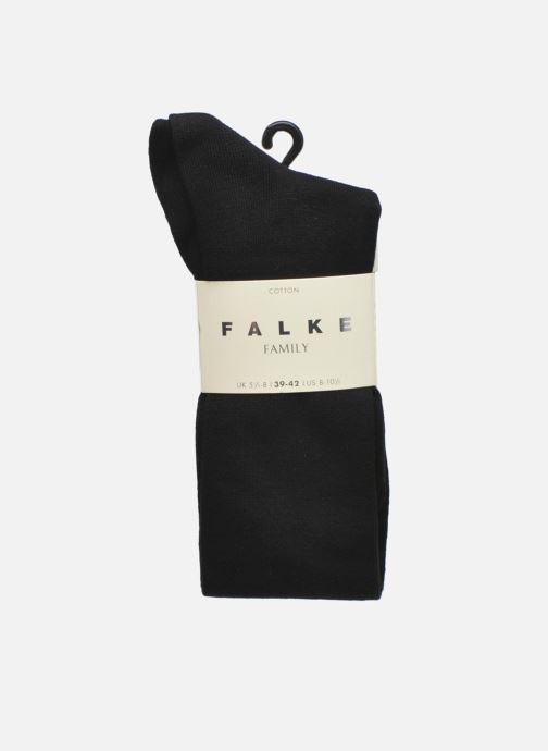 Sokken en panty's Falke Chaussettes hautes FAMILY Zwart detail