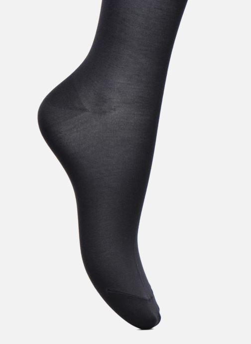 Calze e collant Falke Chaussettes hautes Cotton Touch Azzurro immagine posteriore