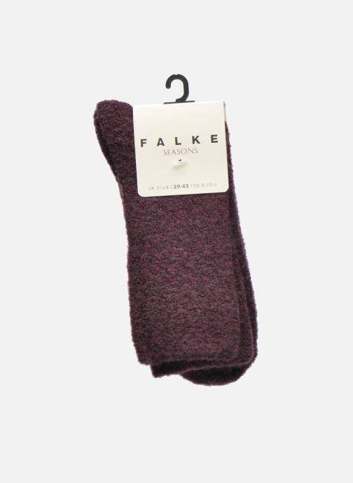 Chaussettes et collants Falke Chaussettes Ascetic Violet vue derrière