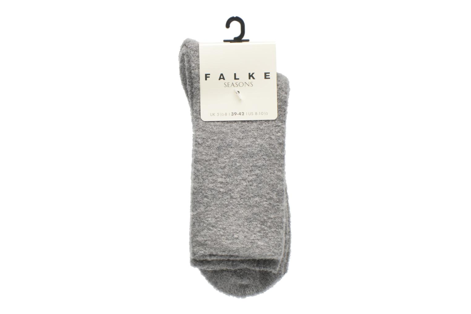 Socks & tights Falke Chaussettes Ascetic Grey back view