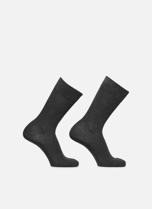 Socks & tights Burlington Chaussettes E.day Pack de 2 Grey detailed view/ Pair view