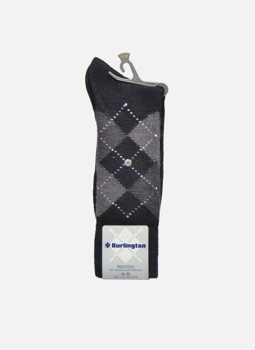 Chaussettes et collants Burlington Chaussettes Preston Noir vue derrière