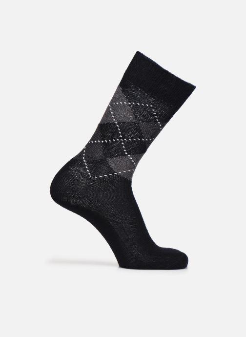 Sokken en panty's Burlington Chaussettes Preston Zwart detail