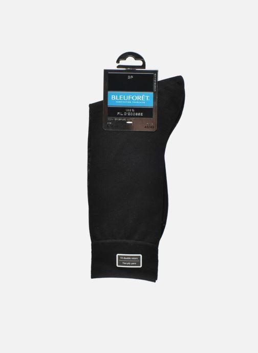 Chaussettes et collants BLEUFORÊT Chaussettes 100% Fil d'Ecosse Noir vue derrière