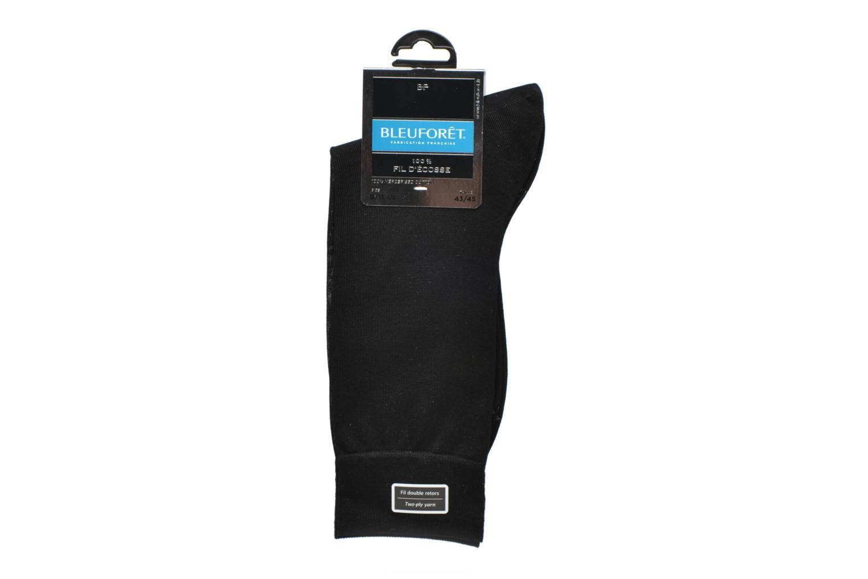 Calze e collant BLEUFORÊT Chaussettes 100% Fil d'Ecosse Nero immagine posteriore