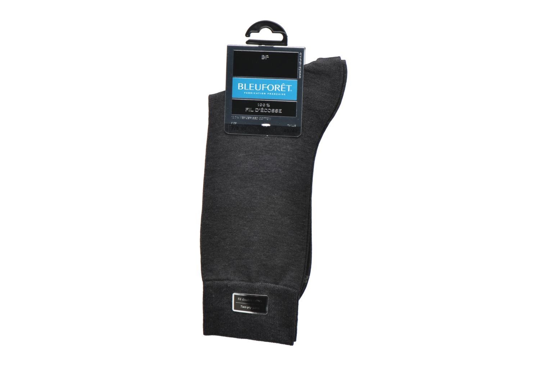Socken & Strumpfhosen BLEUFORÊT Chaussettes 100% Fil d'Ecosse grau ansicht von hinten