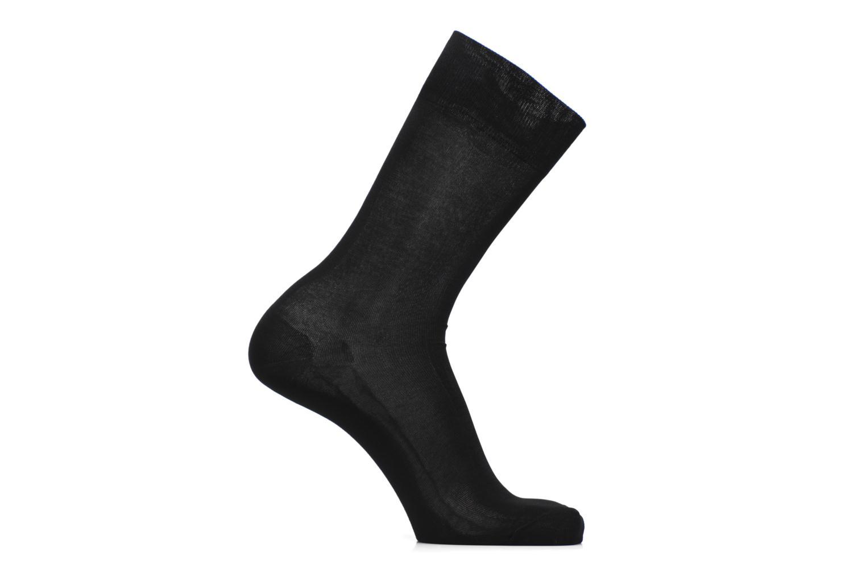 Socks & tights BLEUFORÊT Chaussettes 100% Fil d'Ecosse Black detailed view/ Pair view