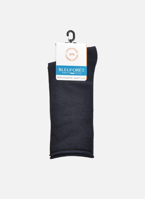 Chaussettes et collants BLEUFORÊT Chaussettes coton velouté Bleu vue derrière