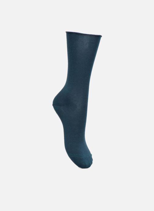 Chaussettes et collants BLEUFORÊT Chaussettes coton velouté Bleu vue détail/paire