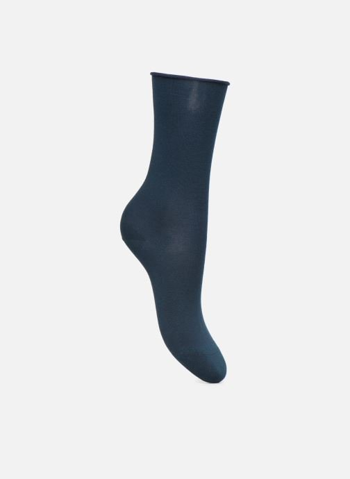 Socks & tights BLEUFORÊT Chaussettes coton velouté Blue detailed view/ Pair view