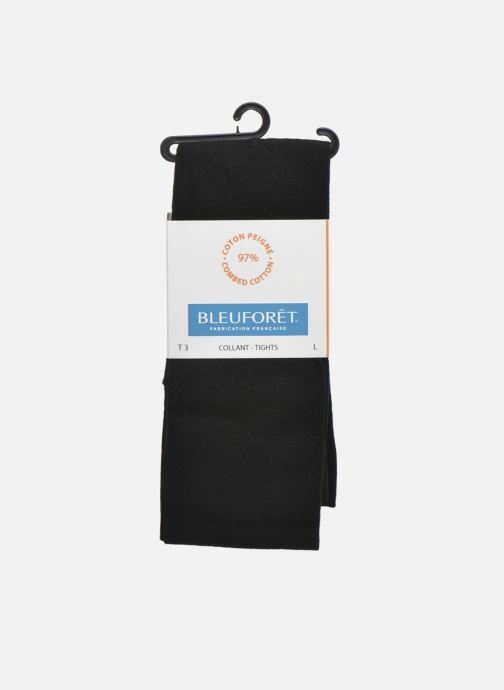 Chaussettes et collants BLEUFORÊT Collant coton velouté Noir vue détail/paire