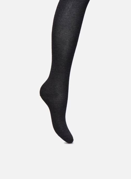 Socks & tights BLEUFORÊT Collant coton velouté Grey detailed view/ Pair view