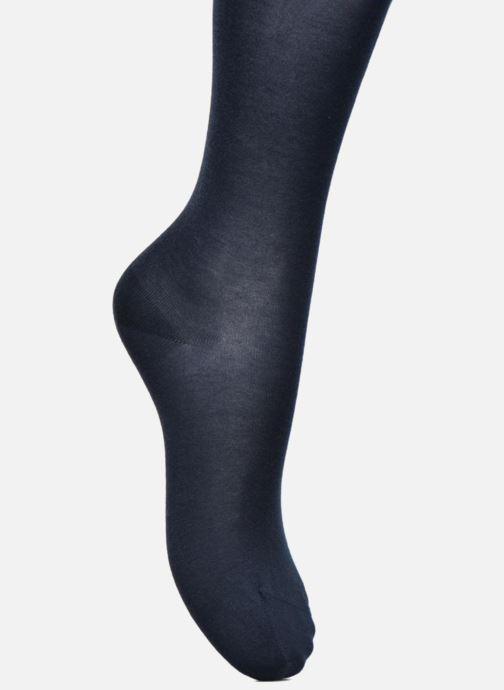 Chaussettes et collants BLEUFORÊT Collant coton velouté Bleu vue gauche
