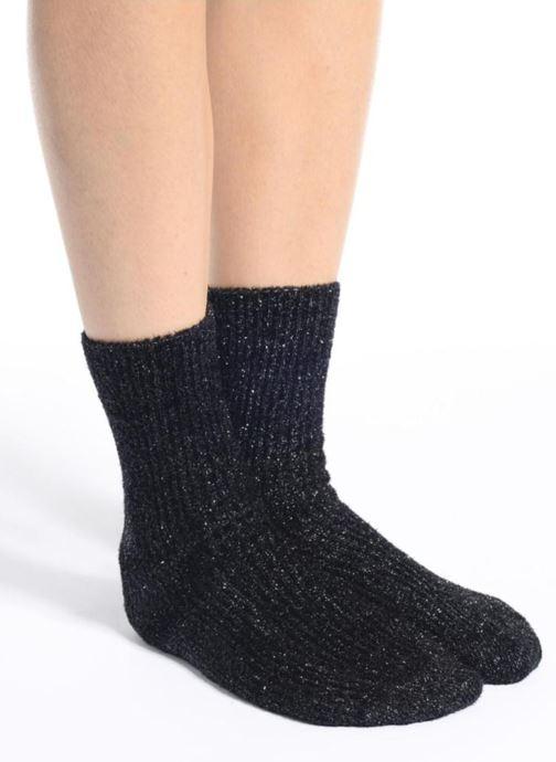 Chaussettes et collants BLEUFORÊT Chaussettes Comète Noir vue haut