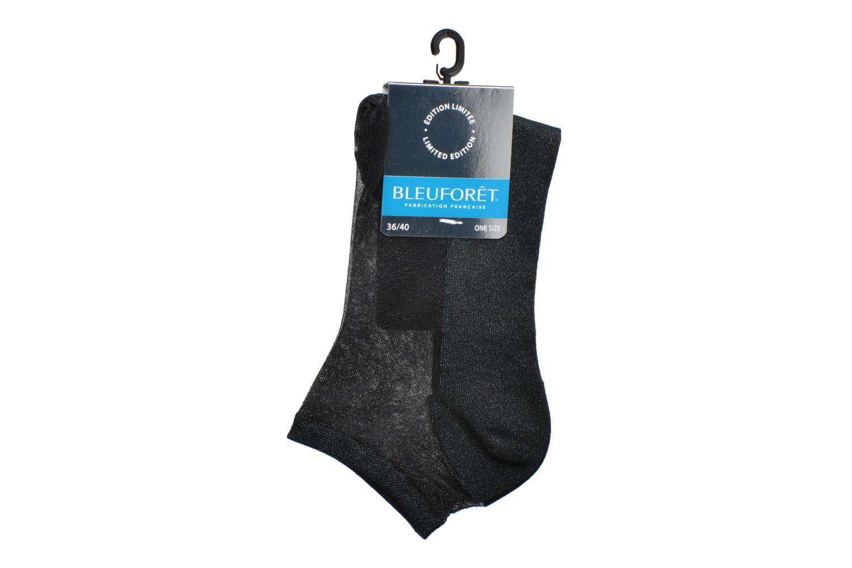 Chaussettes et collants BLEUFORÊT Mini-socquettes Constellation Bleu vue derrière