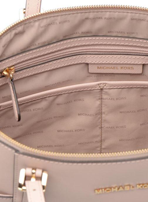 Handbags Michael Michael Kors JET SET ITEM EW TZ Tote Pink back view