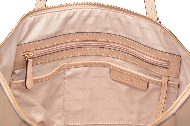 Handväskor Michael Michael Kors JET SET ITEM EW TZ Tote Beige bild från baksidan