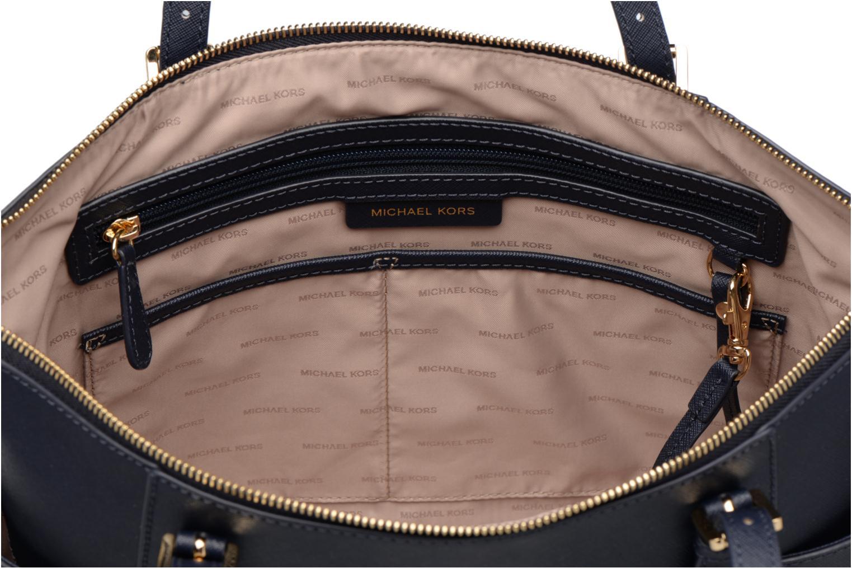 Handväskor Michael Michael Kors JET SET ITEM EW TZ Tote Blå bild från baksidan