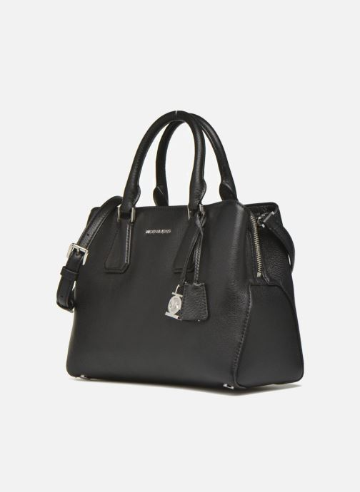 6d4db0ed6d305 Handtaschen Michael Michael Kors CAMILLE MD Satchel schwarz schuhe getragen