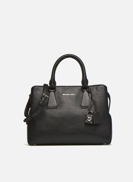b39ebdb211f12 Handtaschen Michael Michael Kors CAMILLE MD Satchel schwarz detaillierte  ansicht modell
