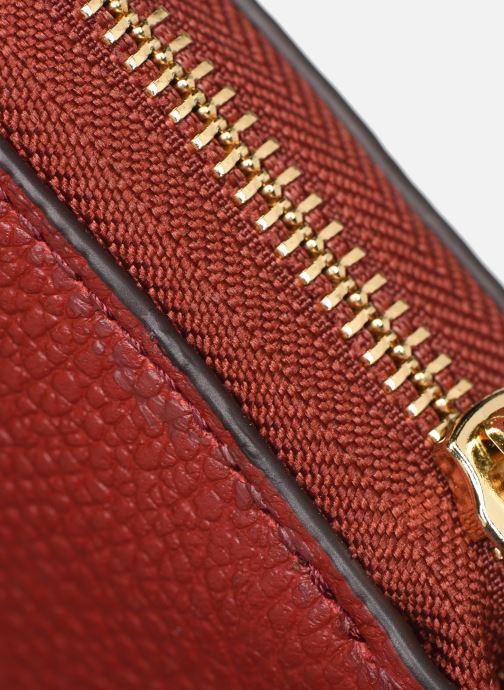 Portemonnaies & Clutches Michael Michael Kors Travel Continental Portefeuille rot ansicht von links