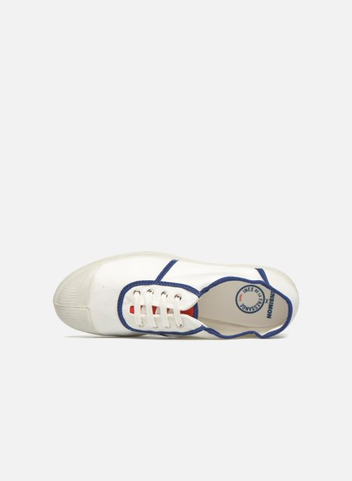 Trainers Bensimon Tennis Ines de la Fressange White view from the left