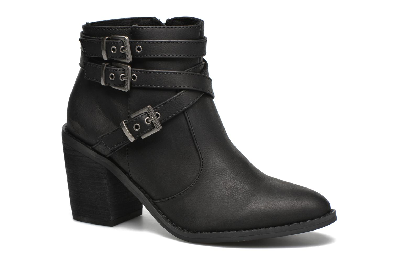Ankle boots Rocket Dog Deon GM Black detailed view/ Pair view