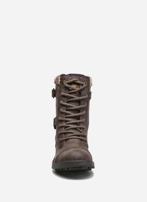 Bottines et boots Rocket Dog Thunder GB Marron vue portées chaussures